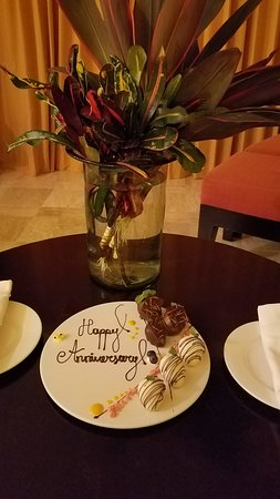 Presidente Inter-Continental Cozumel Resort & Spa: Wonderful surprise from the staff!
