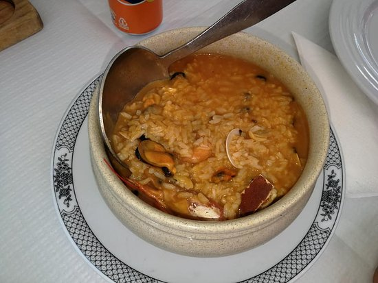 Restaurante Bom Jesus: Arroz caldoso a la marinera