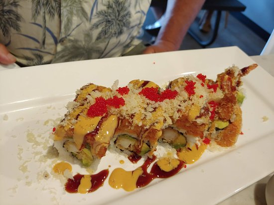 Granby, CT: Red Dragon Angry Roll