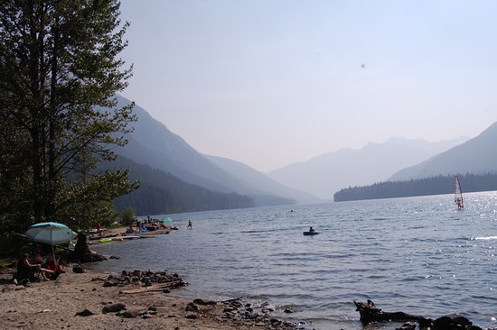 Birken, Canada: Beautiful lake