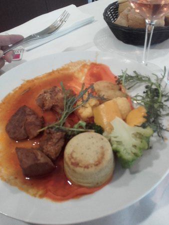 Cap Ouest: plat du menu à 29 euros
