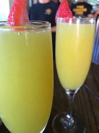 Anniversary Trip First Breakfast in Savannah