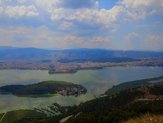 Ligkiades, اليونان: Η θέα από το εστιατόριο