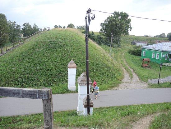 Belozersk, Rosja: Вал Белозерского кремля.