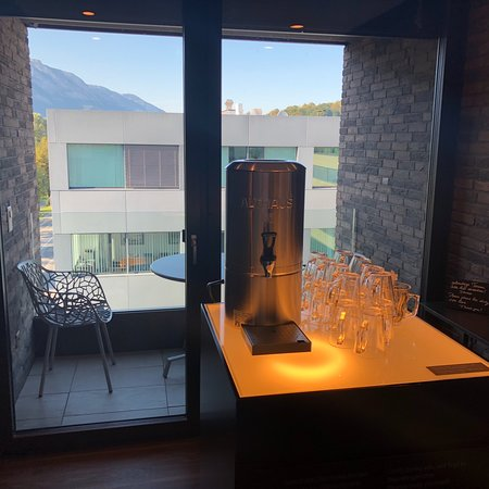 Sevelen, Switzerland: Relax and SPA area with garden/mountain view