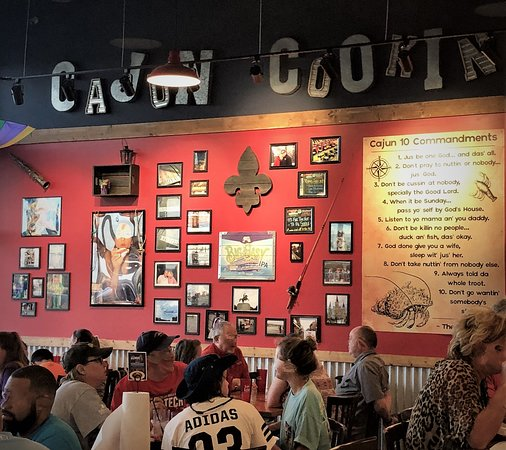 the lost cajun restaurant is a busy place picture of the lost rh tripadvisor com