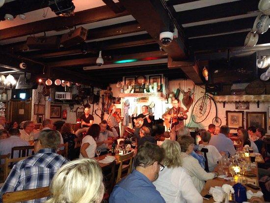 Glencullen, Ireland: Band Playing Irish Music