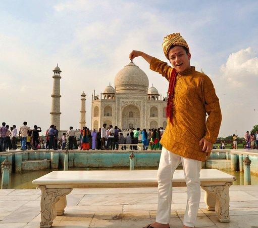 Taj Mahal, Agra, India. Foto: Sabir Khan.