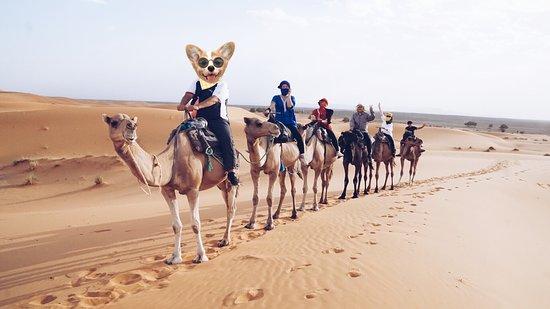 Morocco Joy Travel: Ride to the desert
