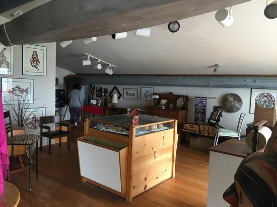 Port Hardy, Canadá: Upstairs Gallery