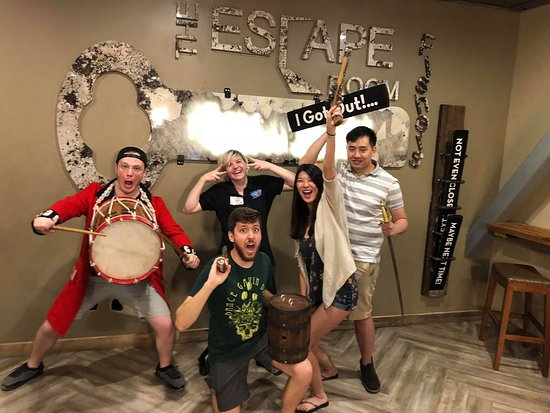 The Escape Room Fishers