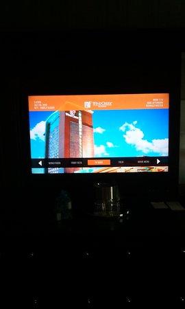 TV home screen - Picture of Wind Creek Casino & Hotel