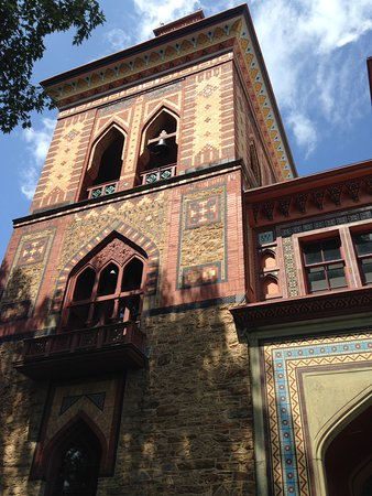 Olana State Historic Site: Olana's Persian architecture