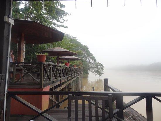 Sukau, Malaysia: The Lodge nestled on the banks of the Kinabatangan River