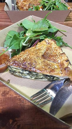Suttons: Spinach and cheese pie