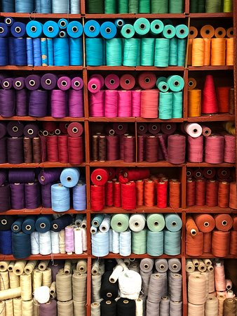 Barefoot Handweaving Studio/Gallery: A burst of colour