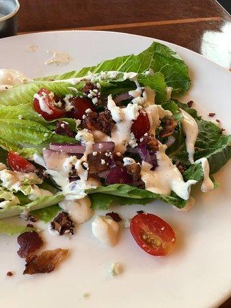 Romaine wedge salad.