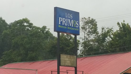 Harriman, TN: The sign is clearly seen after you come off Hwy 40
