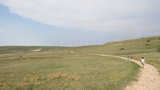Calhan, CO: Up top, near the windmill army