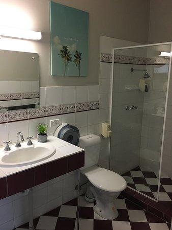Frewville, أستراليا: Budget motel room on main road