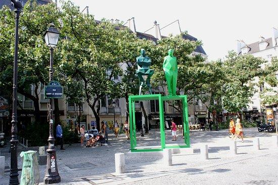 Sculptures de Xavier Veilhan