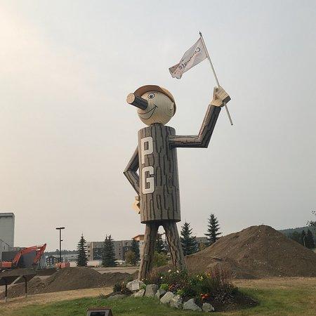 Mr. PG Statue