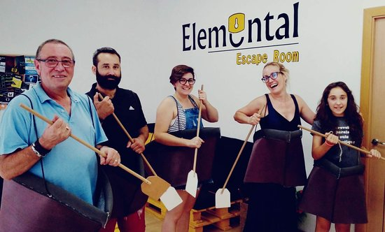 Elemental Escape Room