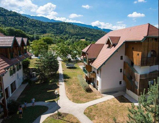 Giez, Frankreich: accès aux divers appartements
