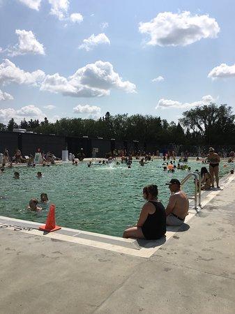 Borden Natural Swimming Pool