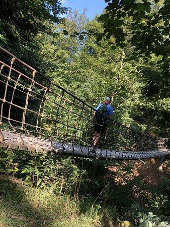 Jagdhaus, Alemania: Hängebrücke