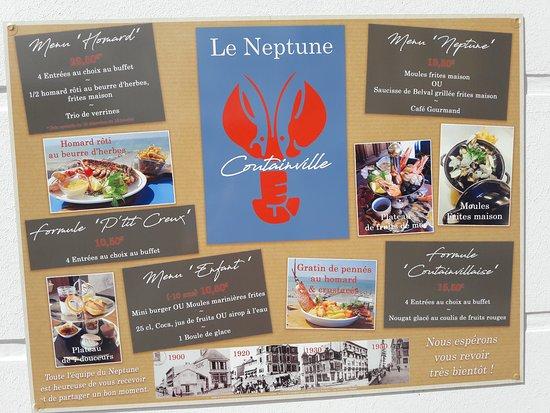 Le Neptune, Agon-Coutainville - Promenoir Jersey - Restaurant