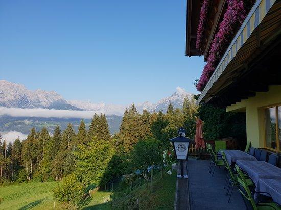Pfarrwerfen, Österreich: view from terrace
