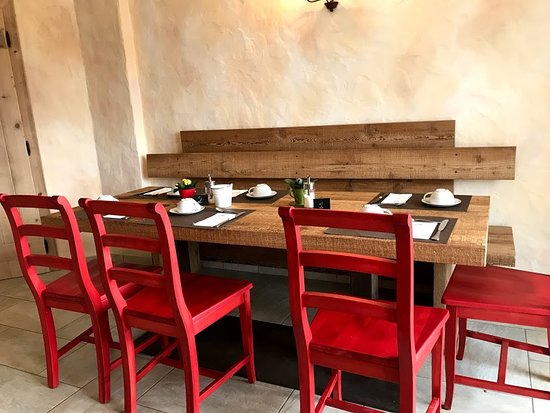 Trepalle, อิตาลี: Tavolo colazione