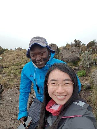 Mount Kenya: Elijah is a very good guide!
