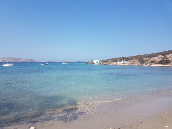 Parikia, Grecja: Agia Irini Beach