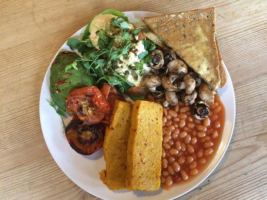 Gatley, UK: Vegan breakfast