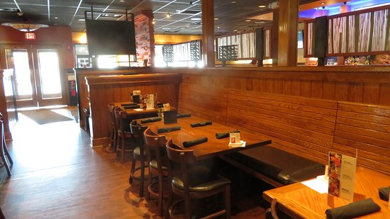 Booths and Tables in the Dining Room - Picture of Outback ...