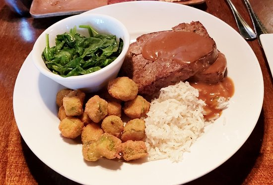 meatloaf, Tombo Grille, Columbia, SC, August 2018