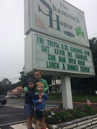 The Shamrock House: Weekend with kids at Shamrock House