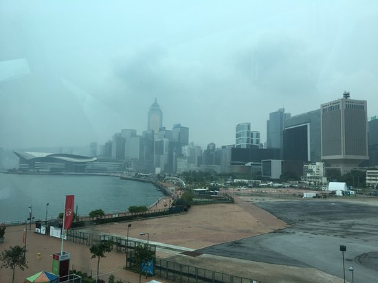 Hong Kong Observation Wheel: View of Admiralty