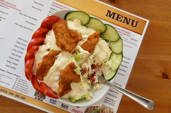 Chojnow, Polandia: Wybór sałatek