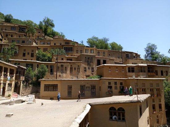 Masouleh Village: Вид на деревню с крыши дома
