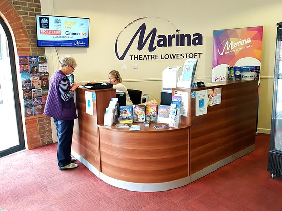 ‪‪The Marina Theatre‬: Box Office at Marina Theatre.‬