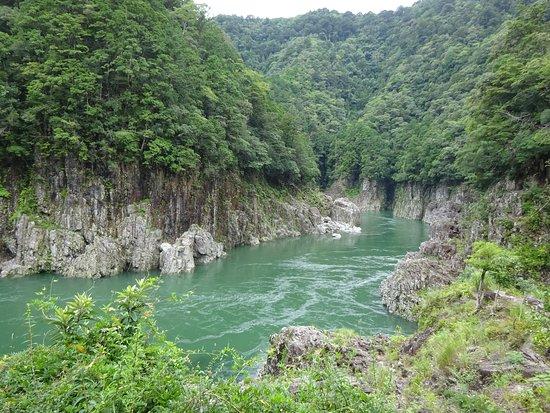 Регион Кинки, Япония: 瀞峡の雰囲気
