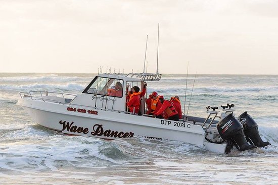 St Lucia, Sudáfrica: Wave Dancer Deep See Fishing Charter - The Boat