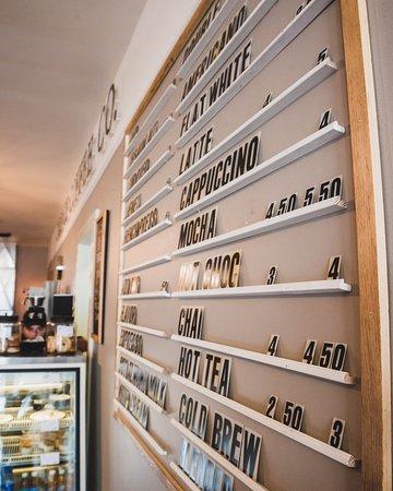 Cadence Coffee Company: Our Menu