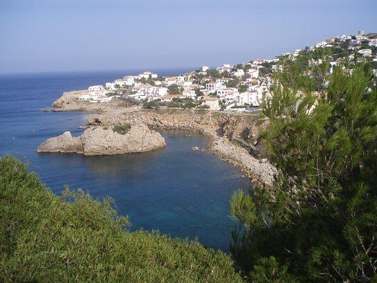 L'Escala, Spanje: Illa Mateua