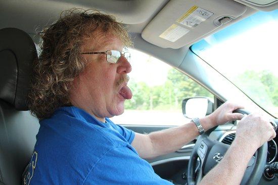 Woodville, TX: Me driving