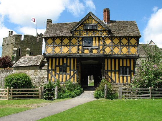Ludlow, UK: Stokesay Castle; a fantastic castle on our Shropshire Castles Cycling holiday