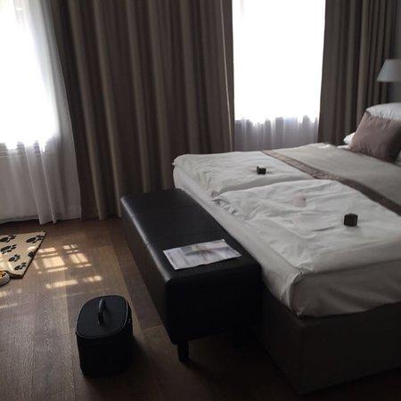 Superior room with the view fotograf a de design hotel for Hotel neruda praga